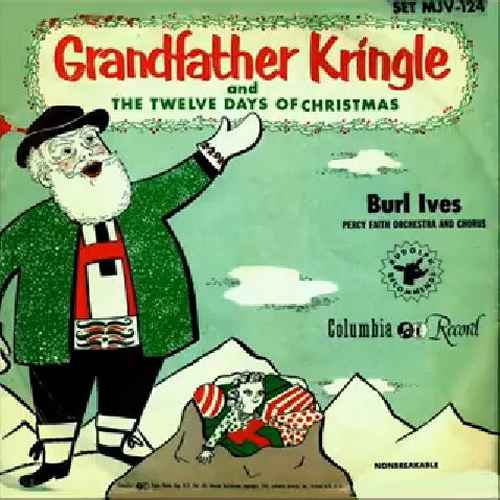 Burl Ives Christmas.Grandfather Kringle Burl Ives Children S Records