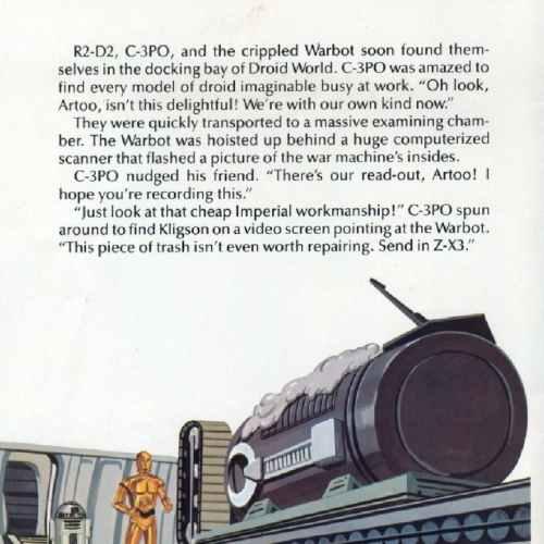 Star Wars Droid World – Storyteller   Children's Records